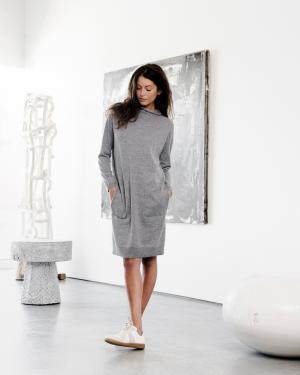 Bruno Manetti Turtleneck Dress