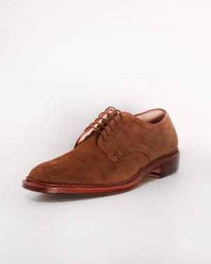 Alden Suede Plain Toe Shoe