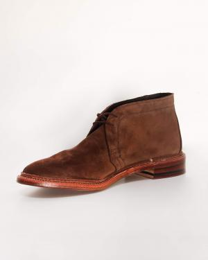 Alden Suede Chukka Boot Brown