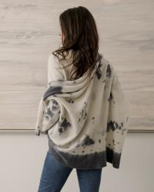Suzusan tie dye sweater Mother jean