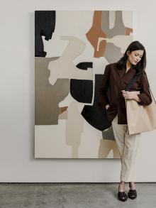 Clothing & Tote | JIL SANDER Painting | HOLLY ADDI MIGUELLA