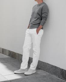 Transit Cotton Trousers