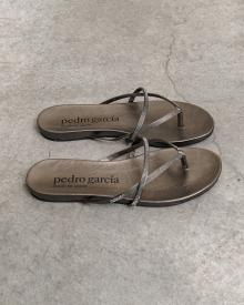 Pedro Garcia Crystal Sandals